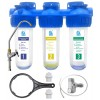 Питьевая система очистки воды АВРОРА-3СТ (умягчение)  три ступени