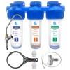 Питьевая система очистки воды АВРОРА-3СТ (антижелезо)  три ступени